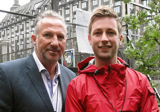 Chris and Sir Ian Botham