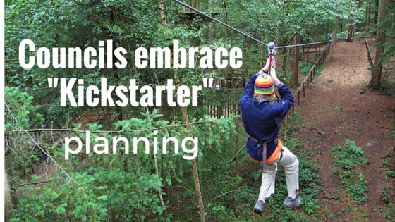 Councils embrace -Kickstarter planning-