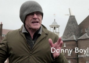 Danny Boyle discusses The Line - still taken from a supporting video about the project