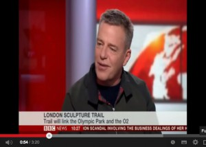 Suggs discusses The Line on the BBC News
