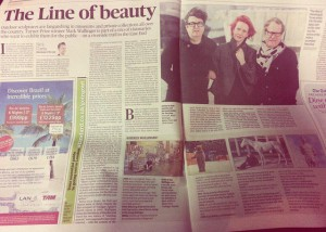 Evening Standard feature about The Line