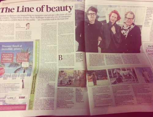 The line – Newspaper feature