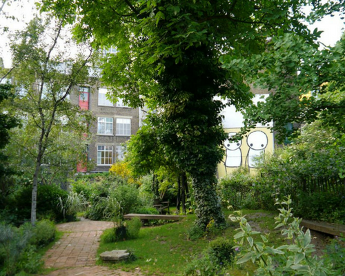 Phoenix Gardens supported by GGB