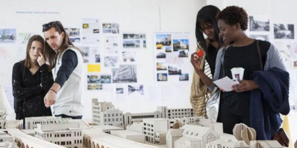 A workshop for the Peckham Coal Line project