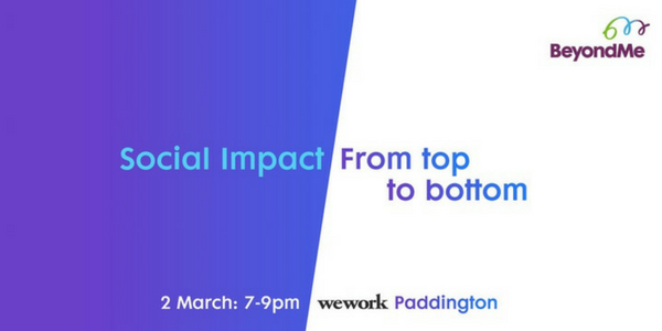 Social Impact from top to bottom
