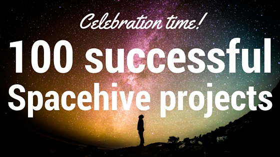 Celebration time! 100 successful projects
