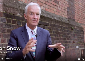 Broadcaster Jon Snow explains why he's supporting The Line