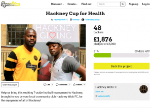 Hackney Cup for Health