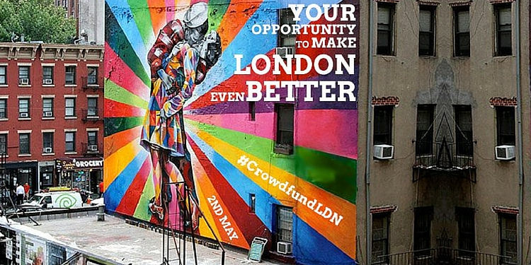 Last chance to apply for £20k from Mayor of London's Crowdfunding Programme