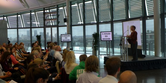 Mayor of London Pitch and Pledge Crowd
