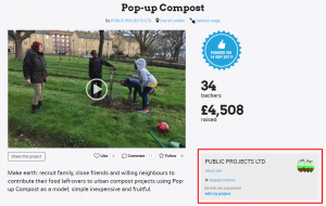 Pop up Compost