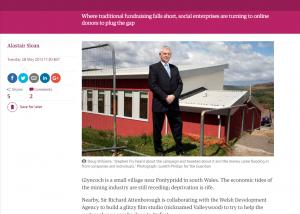 The Guardian - Crowdfunding helps community projects bridge cash shortfall