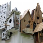 Give a bird a home with urban birdhouses!