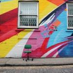 Colour in the city with street art!