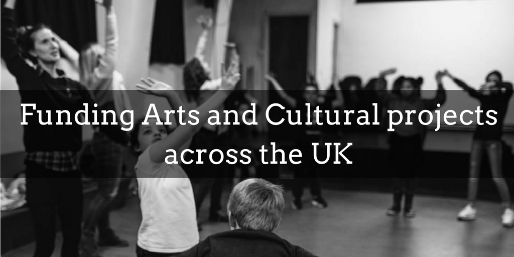 Funding for arts and cultural projects in the UK