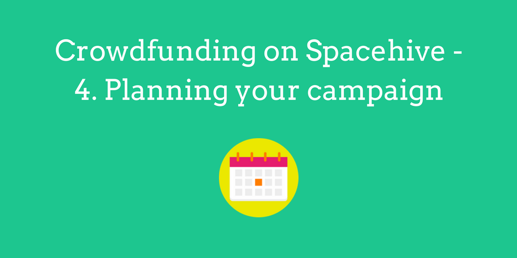 Crowdfunding on Spacehive - Planning your Project