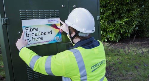 Partnership with BT brings superfast broadband to around 400 homes and businesses