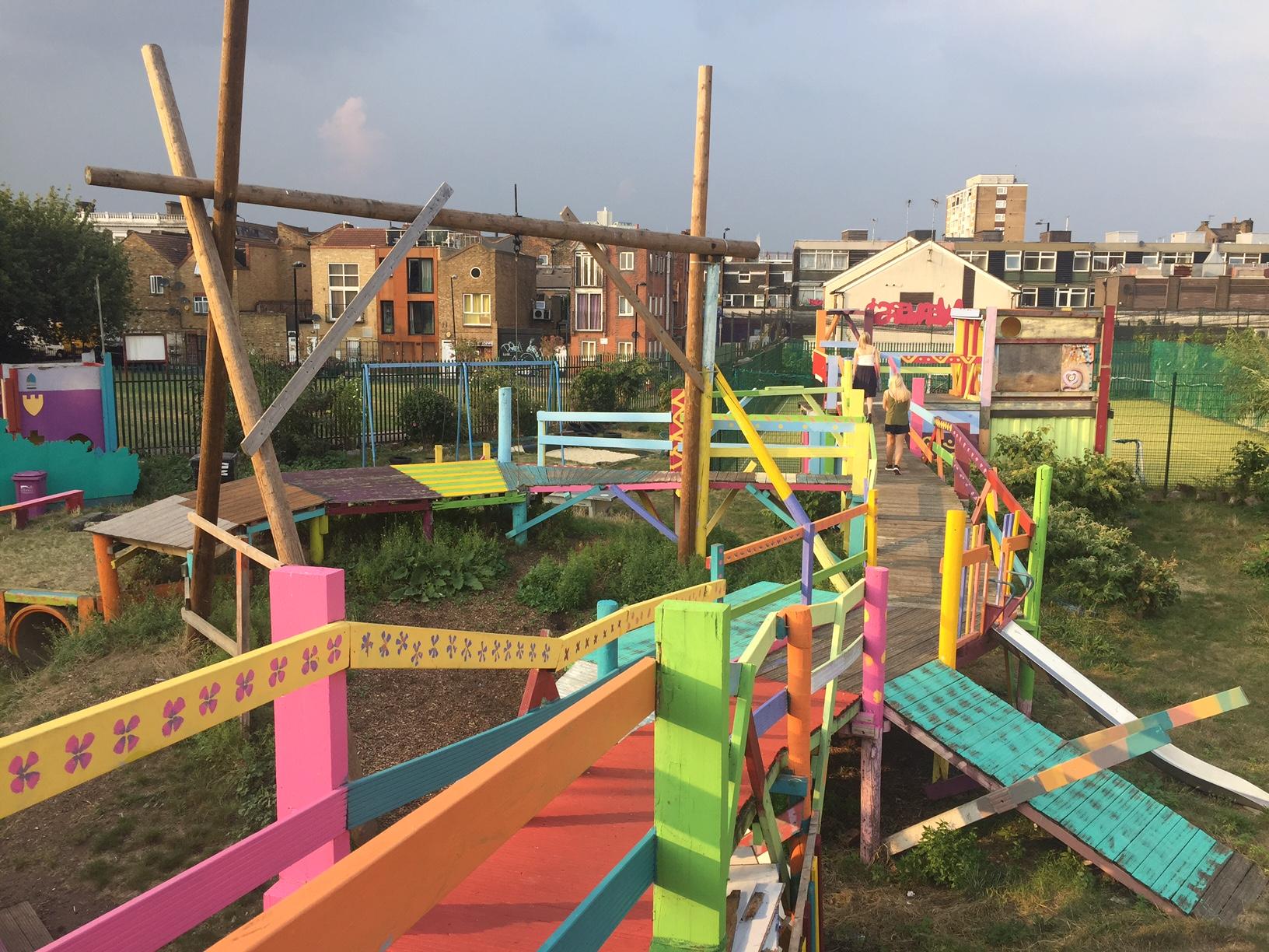 Weavers Adventure Playground_Bethnal Green