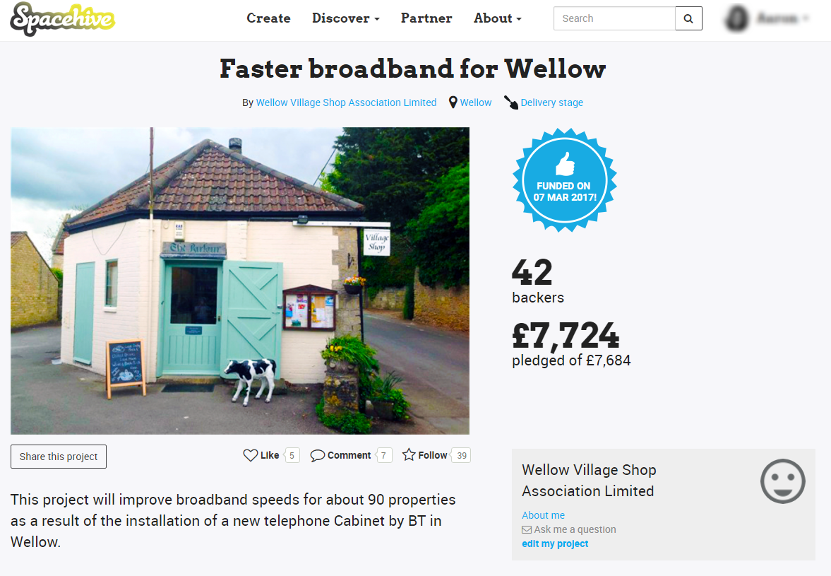 Faster broadband for Wellow - Project Page